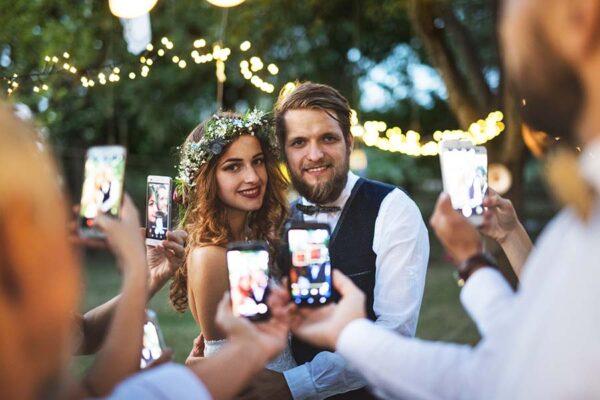 monterey ca wedding venue - old monterey inn garden wedding with couple