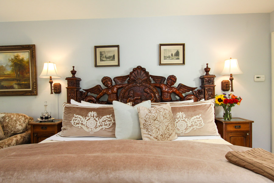 stoneleigh suite with couch and bed