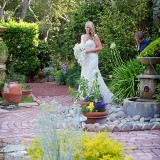 A garden wedding in Monterey
