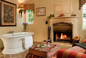 Monterey Elopements Luxury Spa Tub