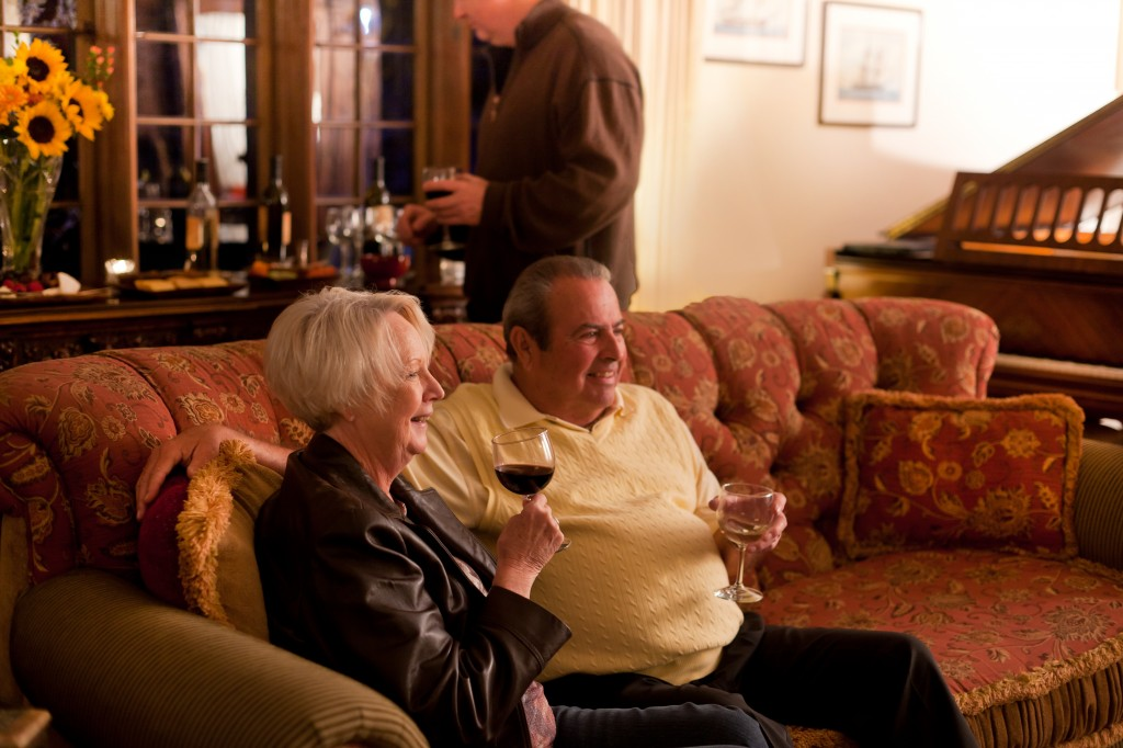 Old Monterey Inn Live Music & Wine - Couple on a Couch