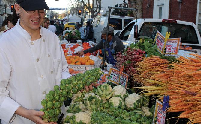 Farmers Market in Monterey
