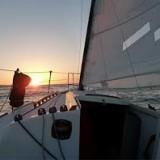 Sunset cruise of Monterey Bay