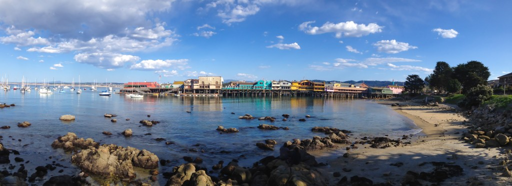 Fisherman's Wharf at Monterey Bay California