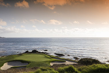 Pebble Beach Golf Couse - Propose in CA