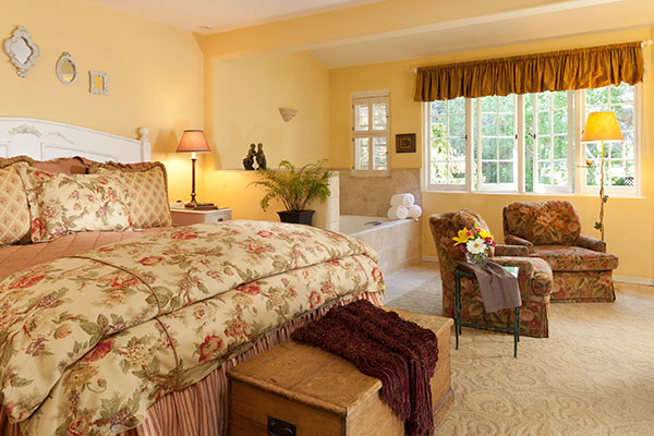 Romantic and Enchanting Rooms at a Monterey B&B