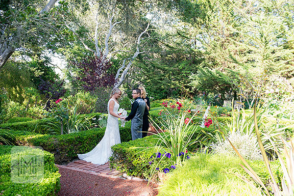 Old Monterey Inn Wedding in the Garden